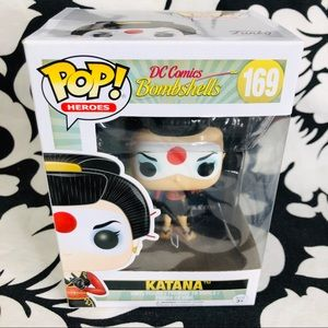5 for $25| Funko POP Heroes: DC Bombshells Katana